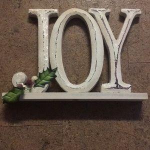 Wooden Joy Decor